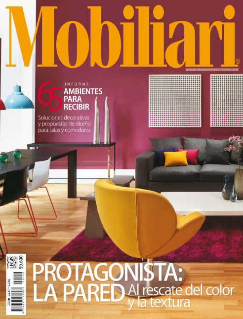 Revista de decoraci n mobiliari profesional del color for Revistas de diseno de interiores