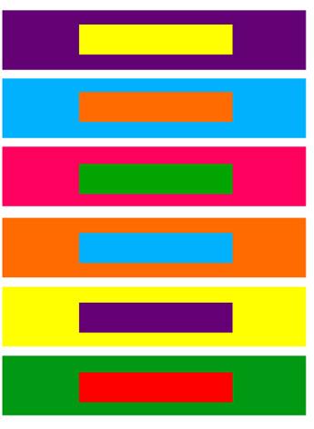 Combinar colores con el circulo cromatico profesional - Combinacion de dos colores para interiores ...
