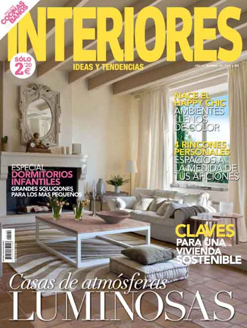 Revista Interiores para descargar gratis